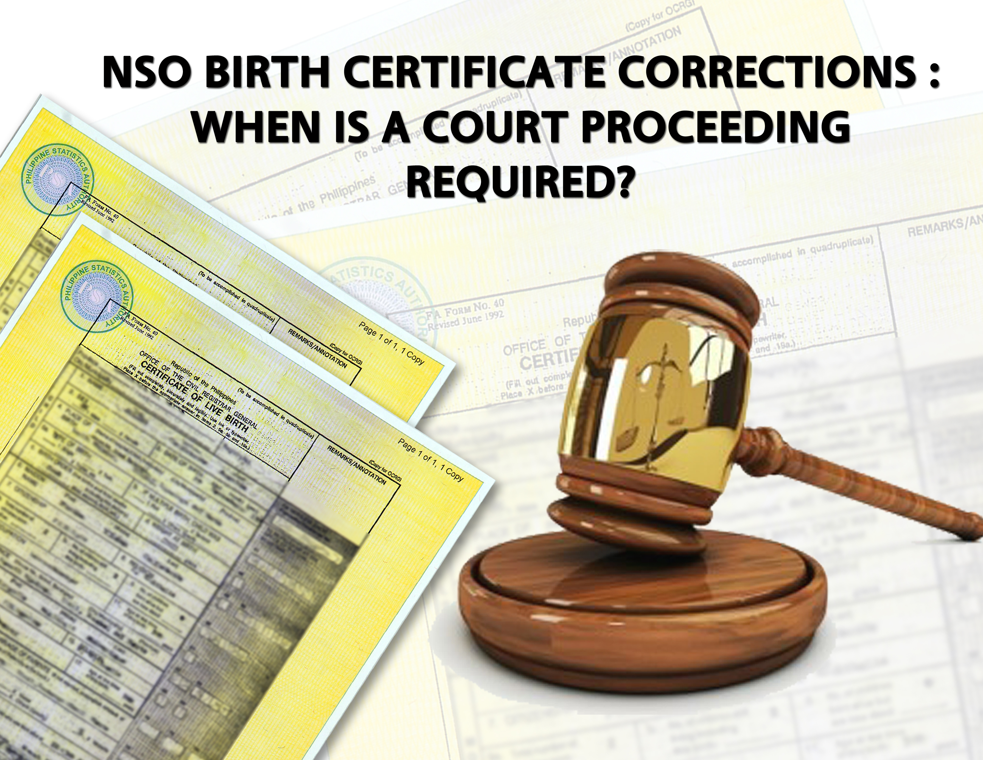 Nso Birth Certificate Problems Mastercitizens Blog Page 3