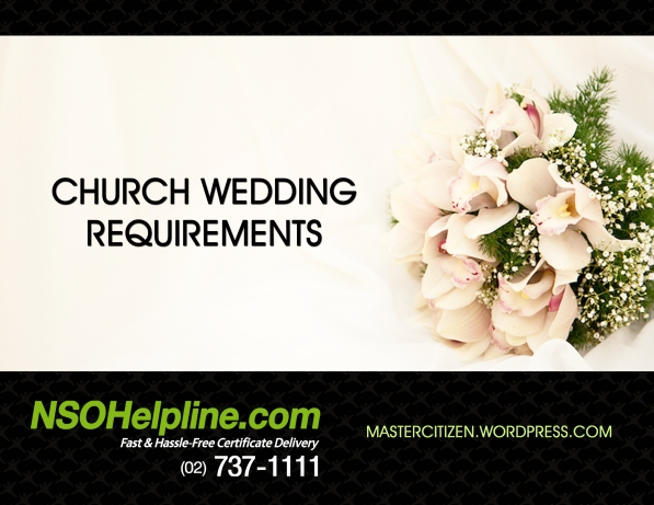 Church Wedding Requirements