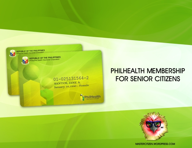 Philhealth Membership for Senior Citizens