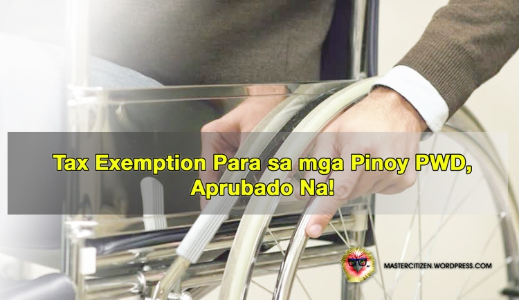 PWD Tax Exemption