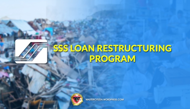 SSS Loan Restructuring Program