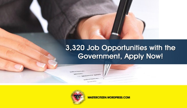 3320 Job Opportunities