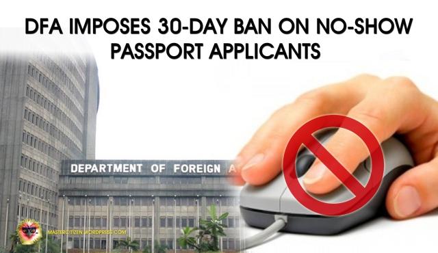 DFA Imposes 30