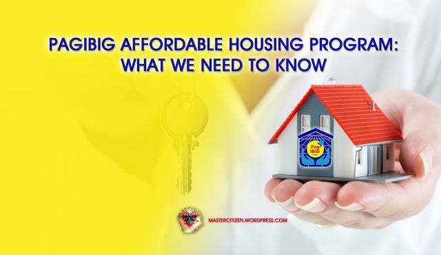 Pagibig Housing