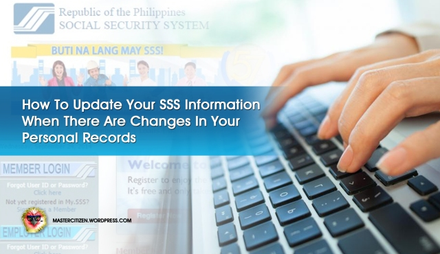 Updating SSS Information