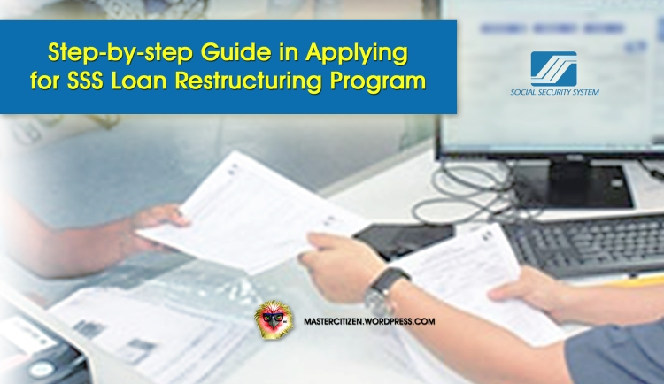 SSS Loan Restructuring Program How To