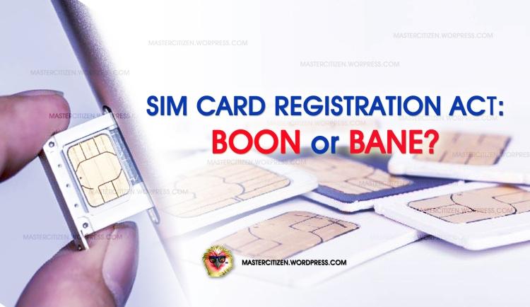 SIM Card Registration Act