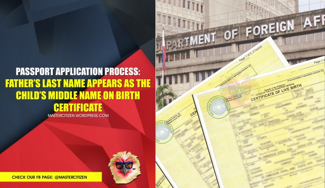 dfa passport application | MasterCitizen\'s Blog