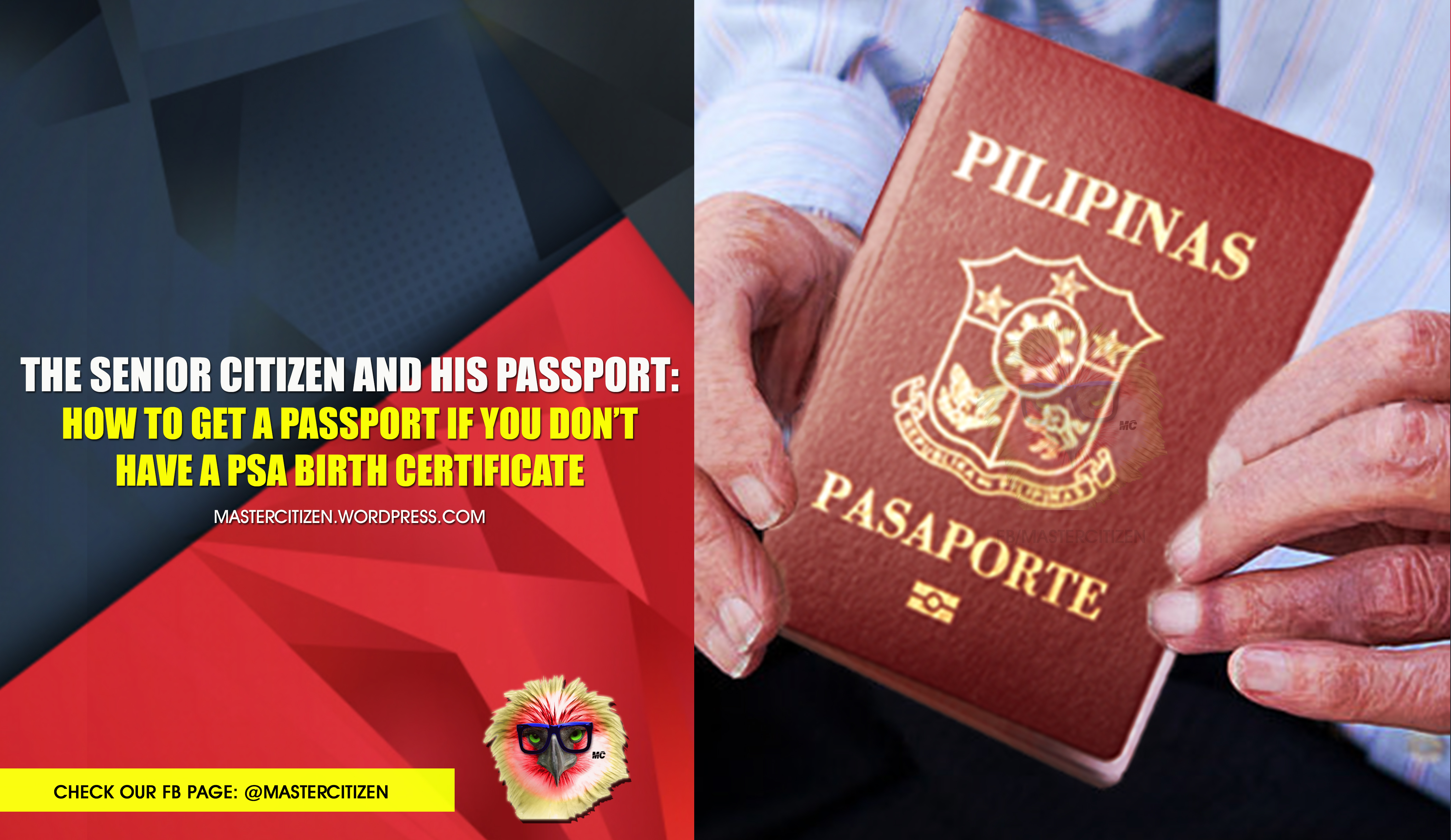 The senior citizen and his passport how to get a passport if you the senior citizen and his passport how to get a passport if you dont have a psa birth certificate mastercitizens blog ccuart Gallery