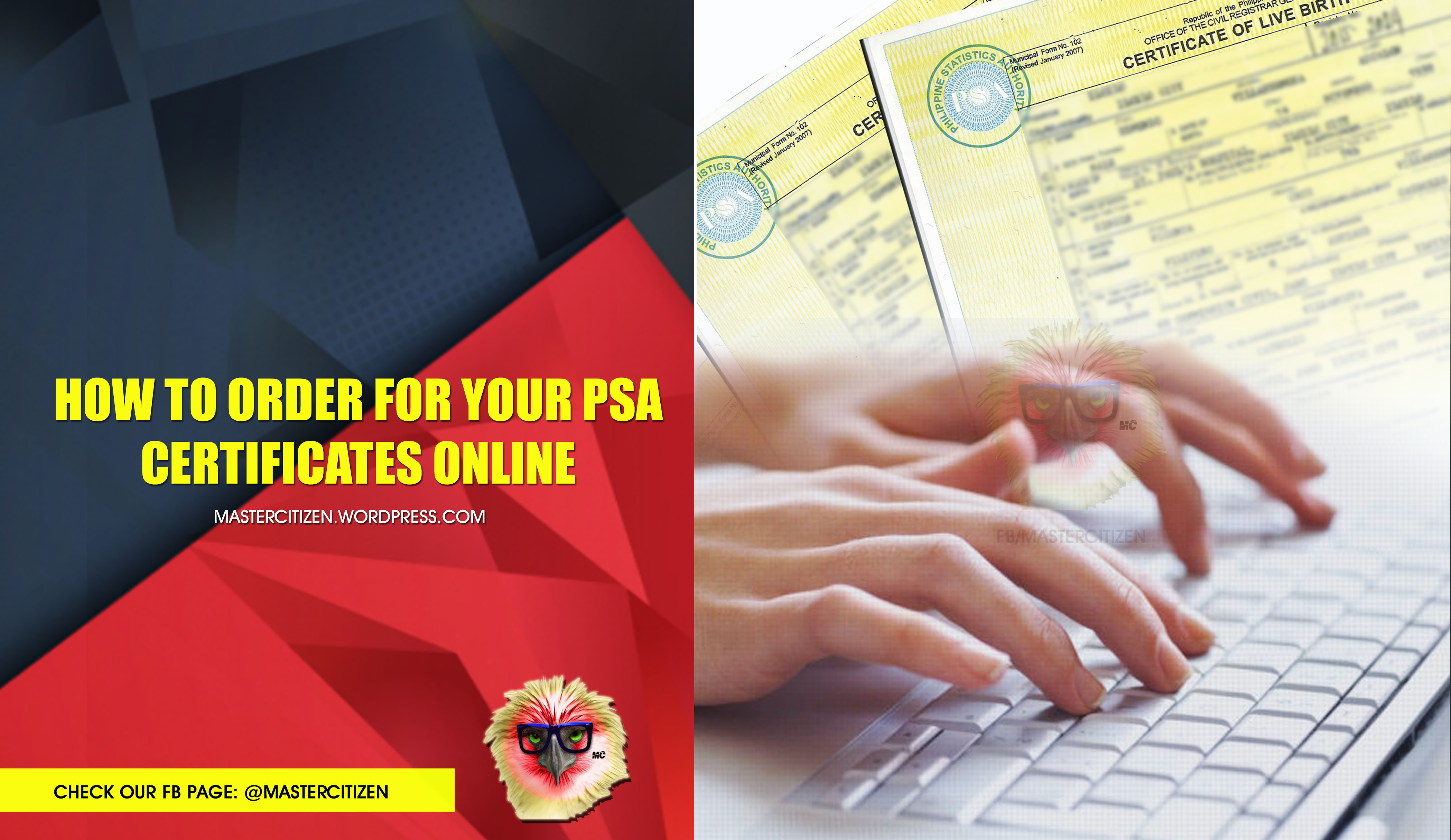 How To Order For Your Psa Certificates Online Mastercitizen S Blog