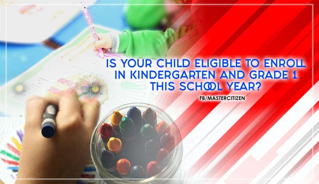 Is Your Child Eligible To Enroll In Kindergarten And Grade 1